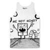 DoodleBob Tank Top-Meme-SoScribbly
