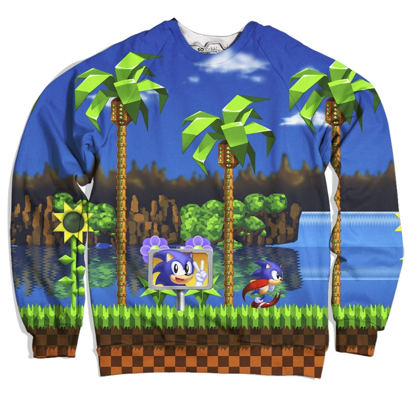 Sonic The Hedgehog Sweater Soscribbly