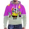 Trippy Square Pants Hoodie-Meme-SoScribbly