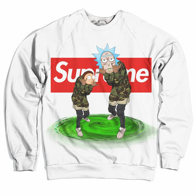 Gang Gang Morty Sweater-Meme-SoScribbly