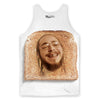 Toast Malone Tank Top-Meme-SoScribbly