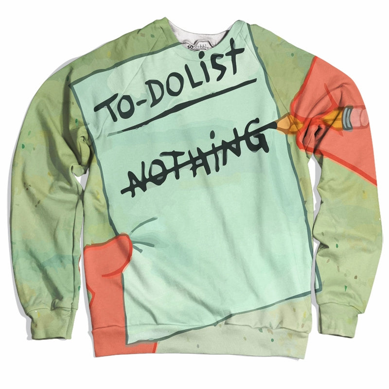 Nothing To Do List Sweater