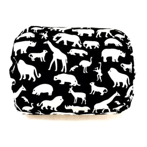 Mamma-pillo ECO Jungle Animals on Black Additional Cover