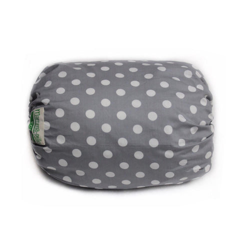 Mamma-pillo ECO Grey & White Spots