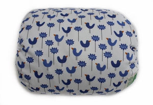 Mamma-pillo Organic Blue Bird Garden Additional Cover