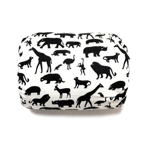 Mamma-pillo ECO Jungle Animals on White