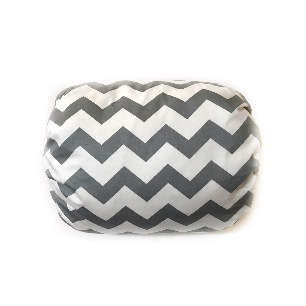 Mamma-pillo ECO Light Grey Chevron Additional Cover