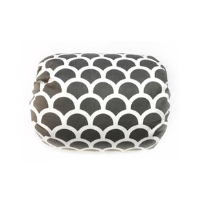 Mamma-pillo ECO Platinum Grey and White Scales Additional Cover