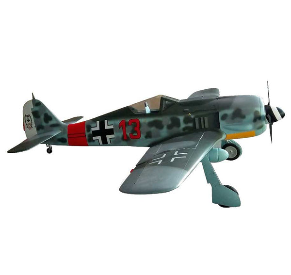 FW-190 Focke Wulf Scale RC Plane by TopRCModel (No Decals)