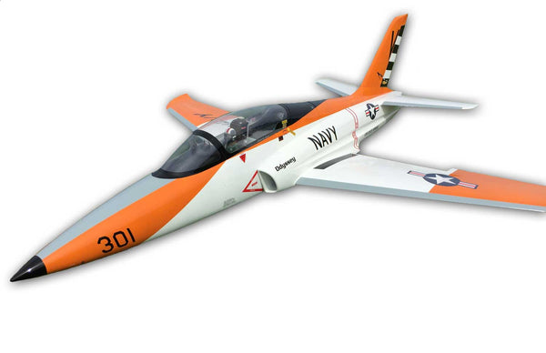 Odyssey Sport Jet, Orange/Black Navy Scheme by TopRcModel