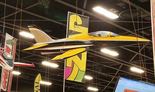 Odyssey Sport Jet, Yellow & Black Scheme by TopRcModel