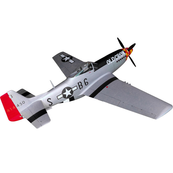 P-51D Mustang, Scale RC Plane (Old Crow)