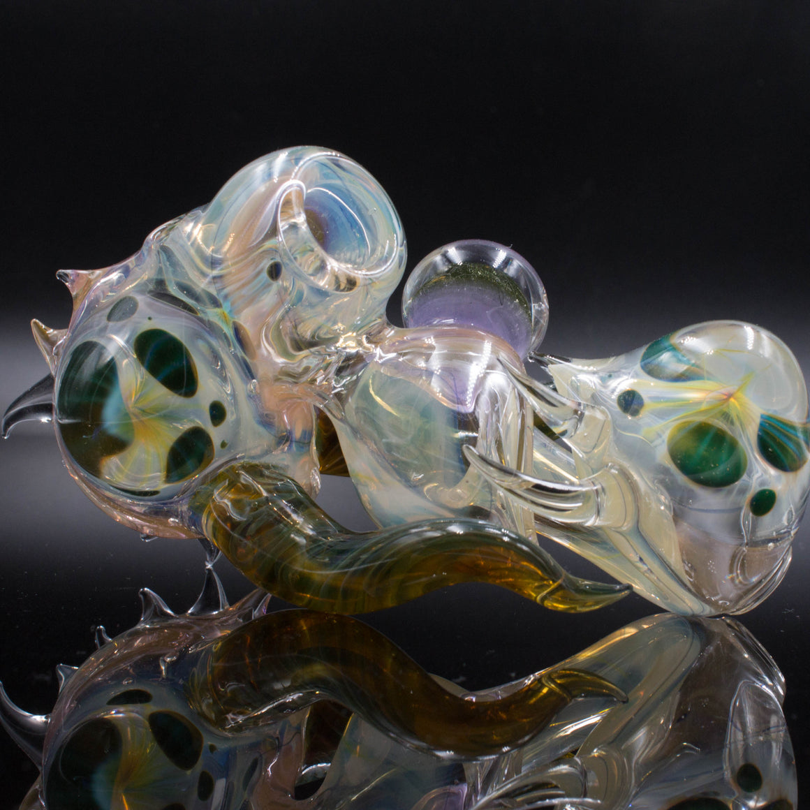 2017 bearclaw glass space jammer pipe