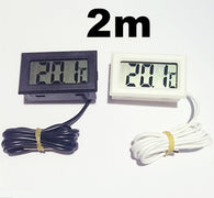 Digital LCD Thermometer Probe 2M  -50+110 Celsius