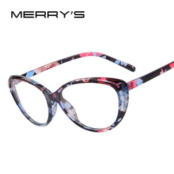 MERRY'S  Women Cat's Eye Glasses Frame available in 8 colors