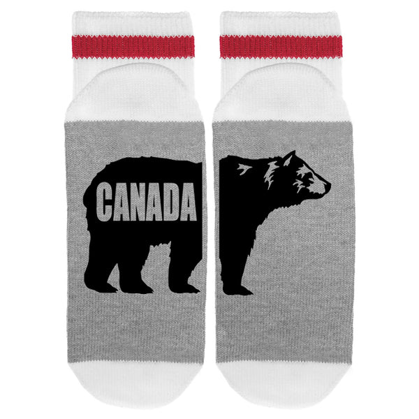 Canada Bear Lumberjack Socks - Sock Dirty To Me