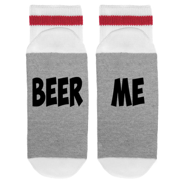 Beer Me Lumberjack Socks - Sock Dirty To Me
