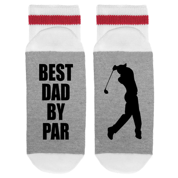 Best Dad By Par Lumberjack Socks - Sock Dirty To Me