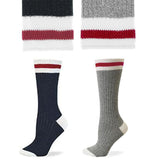 Mom Off Duty Ask Dad Lumberjack Socks - Sock Dirty To Me