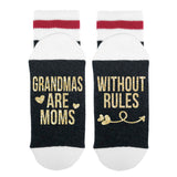 Grandmas Are Moms - Without Rules Lumberjack Socks - Sock Dirty To Me