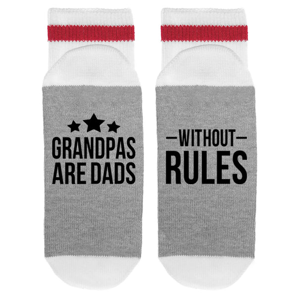 Grandpa's Are Dads - Without Rules Lumberjack Socks - Sock Dirty To Me