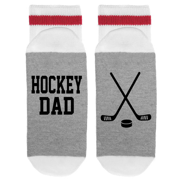 Hockey Dad HOCKEY STICKS Lumberjack Socks - Sock Dirty To Me