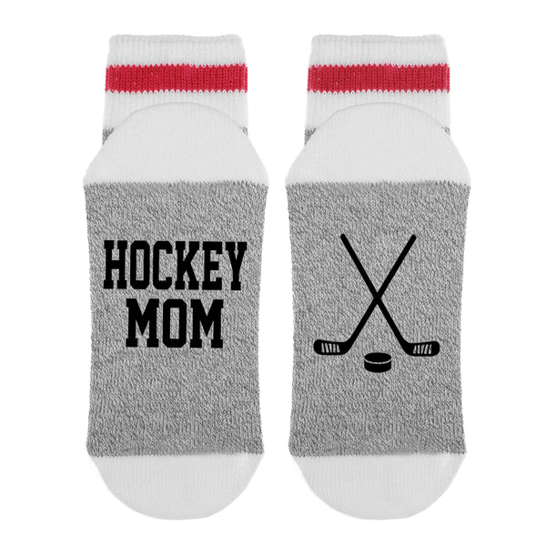 Hockey Mom HOCKEY STICKS Lumberjack Socks - Sock Dirty To Me