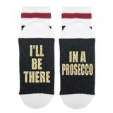 I'll Be There In A Prosecco Lumberjack Socks - Sock Dirty To Me