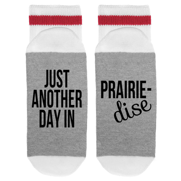 Just Another Day In Prairie-dise Lumberjack Socks - Sock Dirty To Me