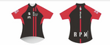 RED PERFORMANCE PRO CYCLING JERSEY WOMEN