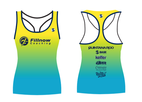 FILLNOW COACHING RUN TANK WOMEN