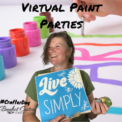 Virtual Paint Parties with Barefoot Custom Creations & Erin
