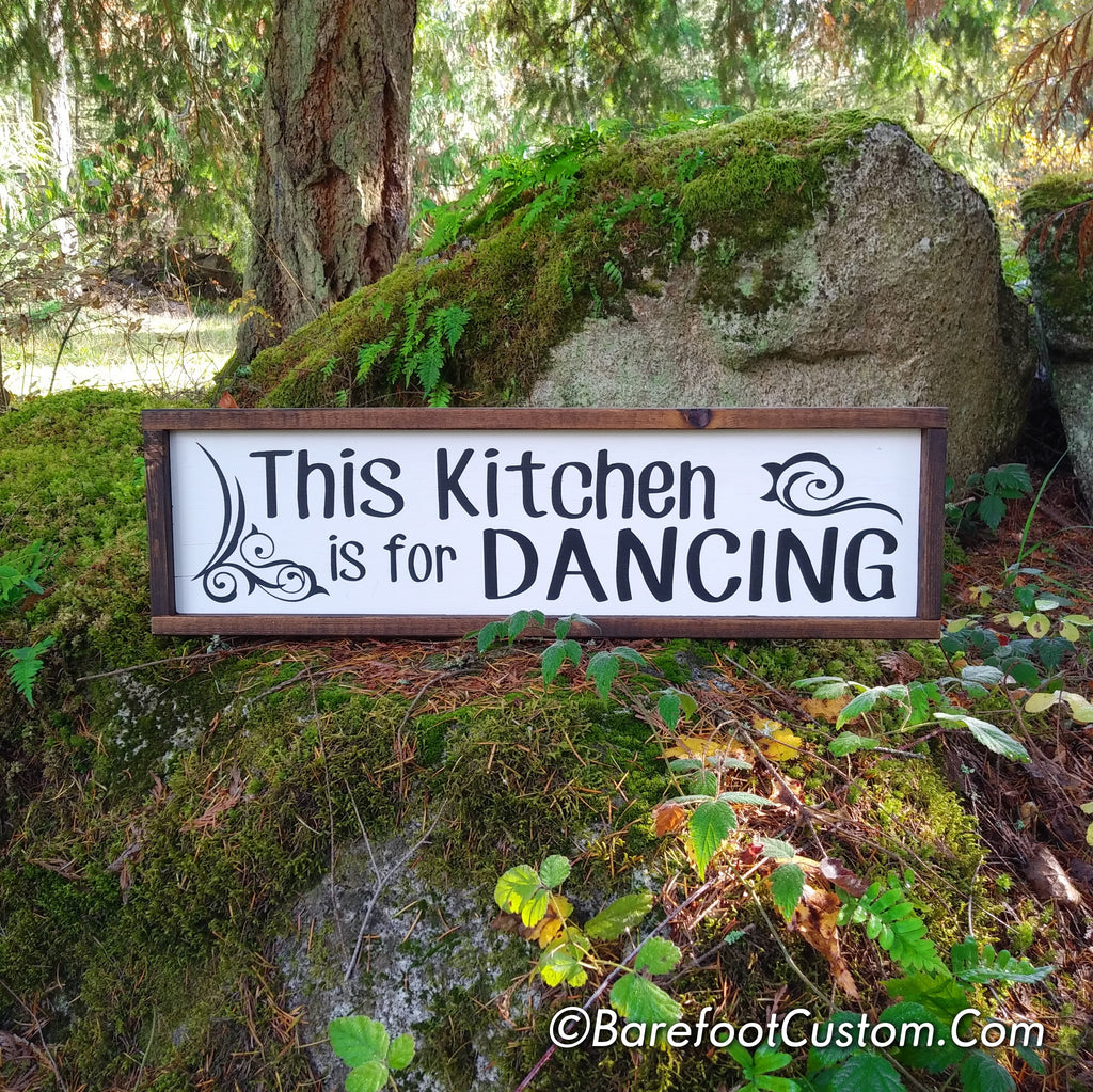 kitchen decor, rustic decor, kitchen sign, rustic sign