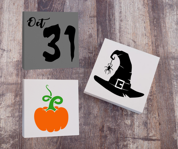 Halloween DIY sign painting kit set of 3