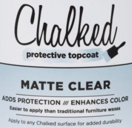 Clear Coat For Chalk DIY KITS