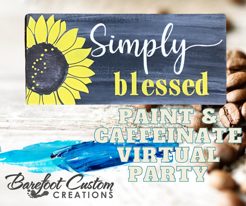 Simply Blessed Virtual Paint Party