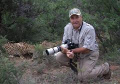 Walking with Cheetah in South Africa with Zungah Safaris