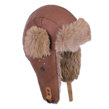 Kangaroo Leather Aviator Hat - The Walkabout Company
