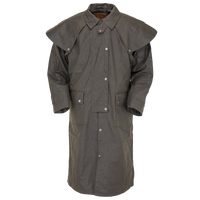Outback Australian Riding Coat, Waterproof Oilcloth Duster Style 2042 - The Walkabout Company