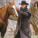 Outback Australian Riding Coat, Waterproof Oilcloth Duster Style 2042
