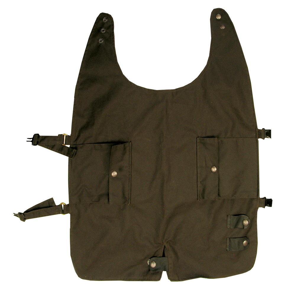 Dog Vest Waterproof Oilcloth - The Walkabout Company
