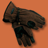 Gloves Oilcloth Waterproof Riding Gloves Gauntlet Oilcloth Outback Gloves - The Walkabout Company