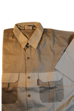 Serengeti Two Tone Guide/Safari Shirt Short Sleeve. 100% Premium Cotton made in South Africa