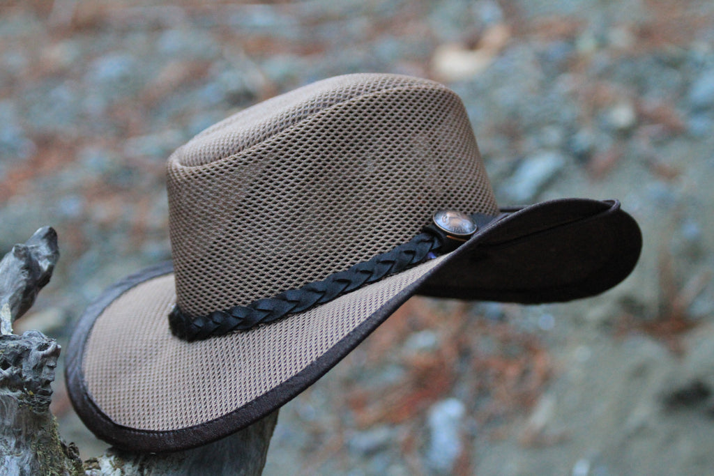 Fishing Hat - YES, it FLOATS! Cool Soakable UV Mesh Hat - The Walkabout Company