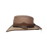 Montana Leather Mesh by Walkabout. Shapeable Brim & Waterproof