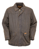 Outback Rancher Jacket Fleece Lined Concealed Carry Vintage Style - The Walkabout Company