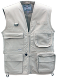 Youth / Kids Junior Safari Vest, 100% Cotton 7.5 oz. Ton of Features - The Walkabout Company