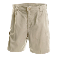 Mens Safari Cargo Shorts 100% Cotton 7.5 oz Made in South Africa Clearance