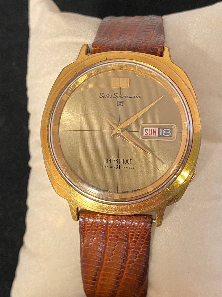 Vintage Watch Selection - SEIKO SPORTSMATIC 5 - The Walkabout Company