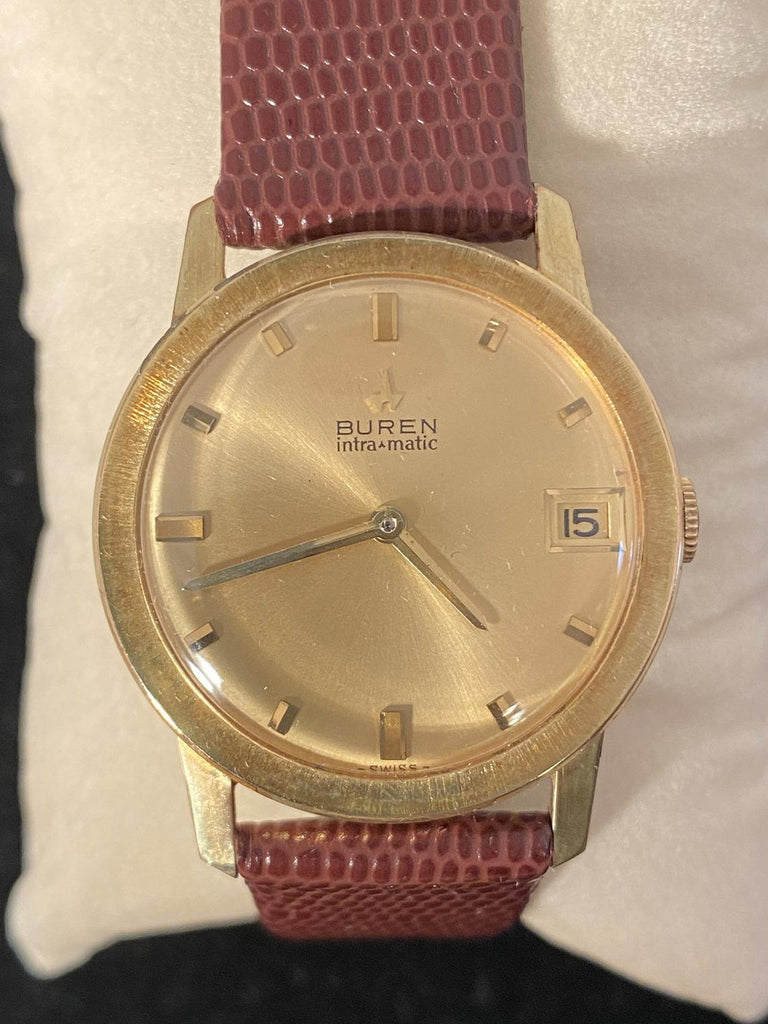 Vintage Watch Selection - BUREN INTRA MATIC - The Walkabout Company